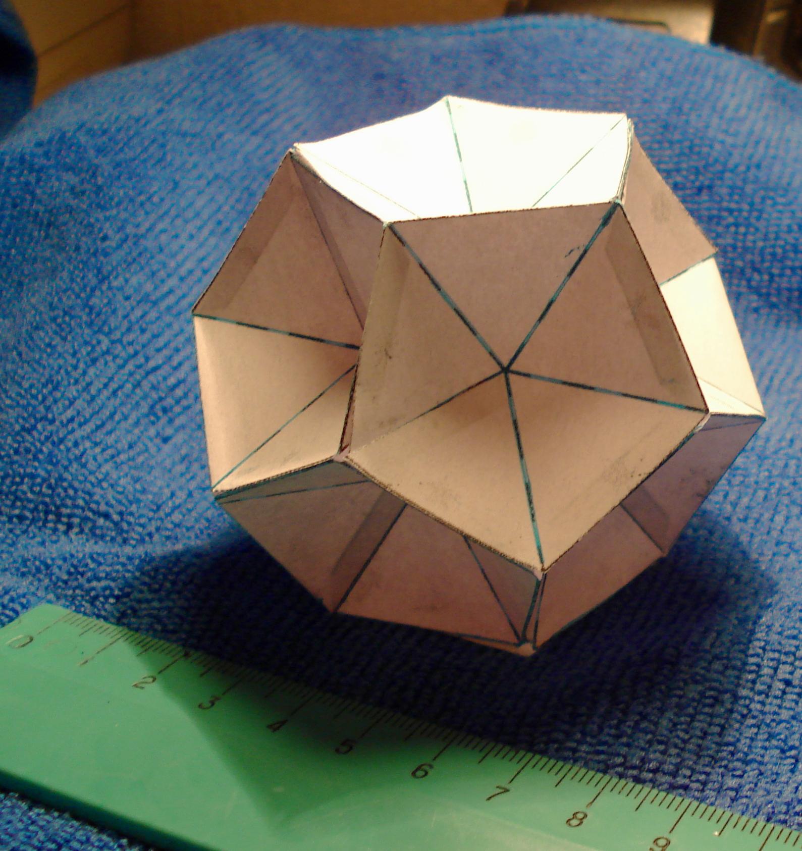 Инструкция как делать многогранник
